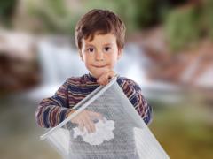 Met gemak gooi je het in de prullenbak: drillen die kinderen!