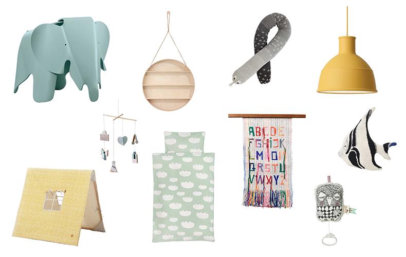 10 design accessoires voor de neutrale babykamer