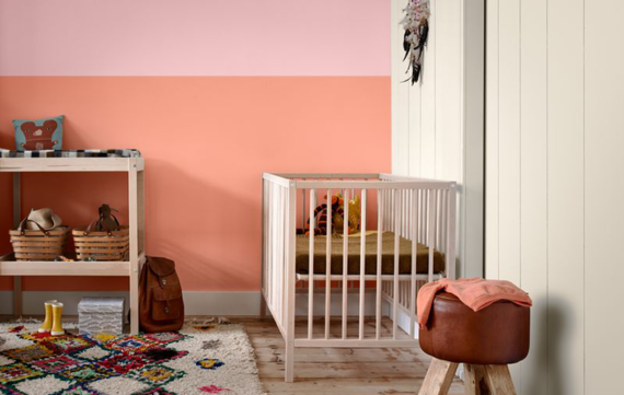 Breng kleur in de babykamer!