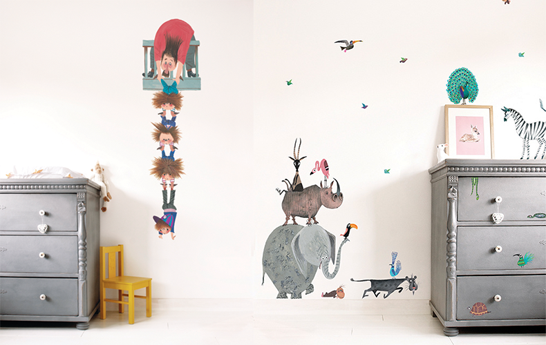 Babykamer Behang Stickers : Behang stickers wanddecoratie archieven oh yeah baby