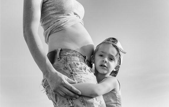 Toch een zwangerschap? Mama, je hebt mijn zusje in je buik!