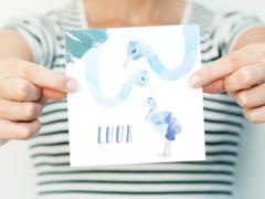 Voorbereidingen baby: Geboortekaartje kiezen