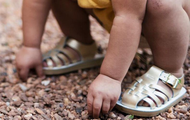 Summer proof sandalen van leer voor kids!