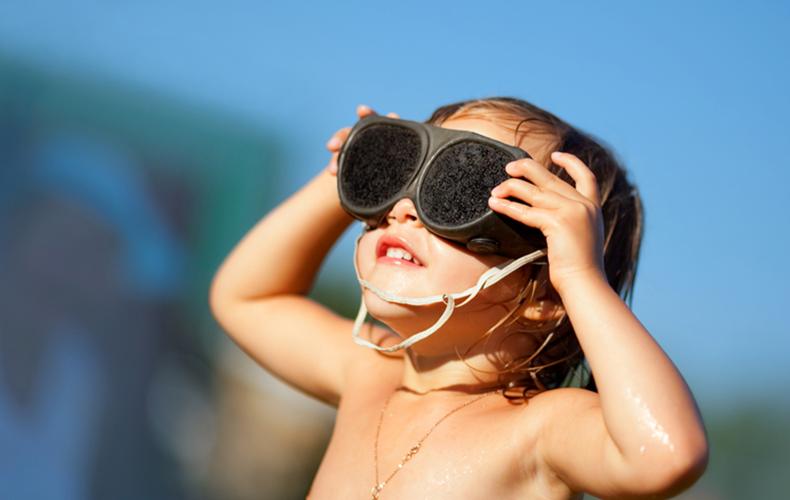 Biodermal zonbescherming speciaal voor kinderen