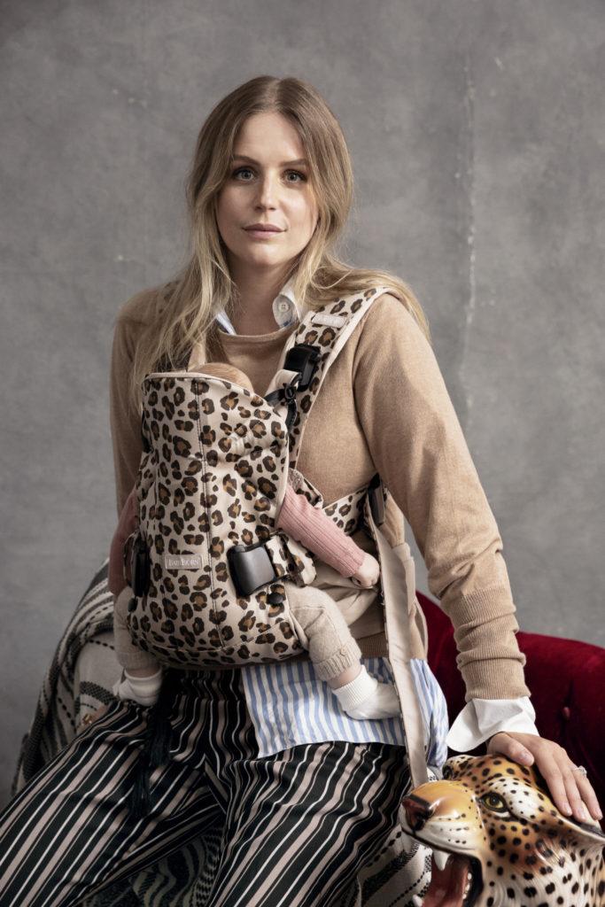 leopard draagzak