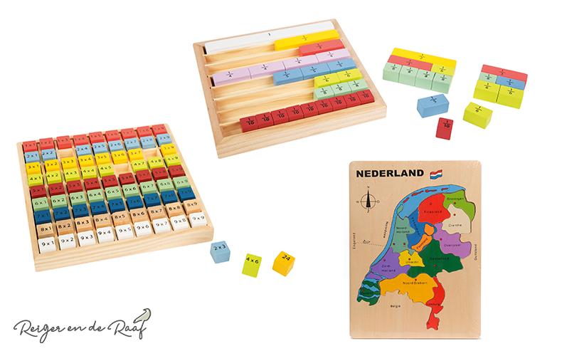 leerzaam houten speelgoed