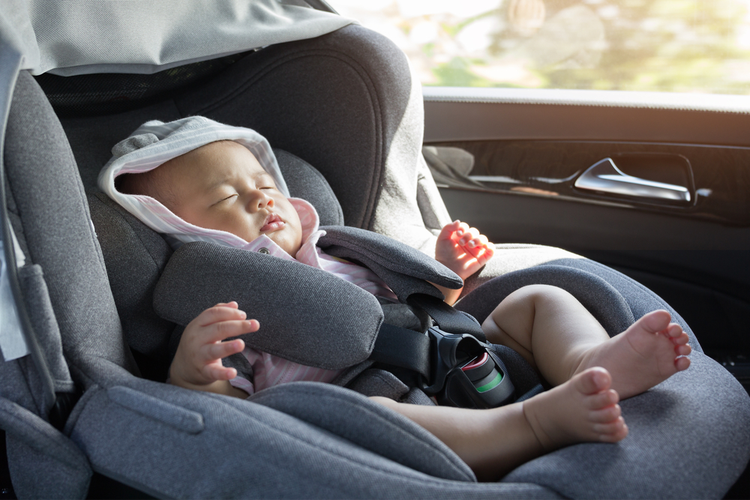 rijden met je baby