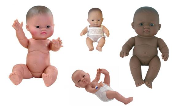 Ja! Een multiculturele pop voor je kindje!