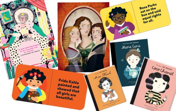 6 x feministische kinderboeken voor meisjes
