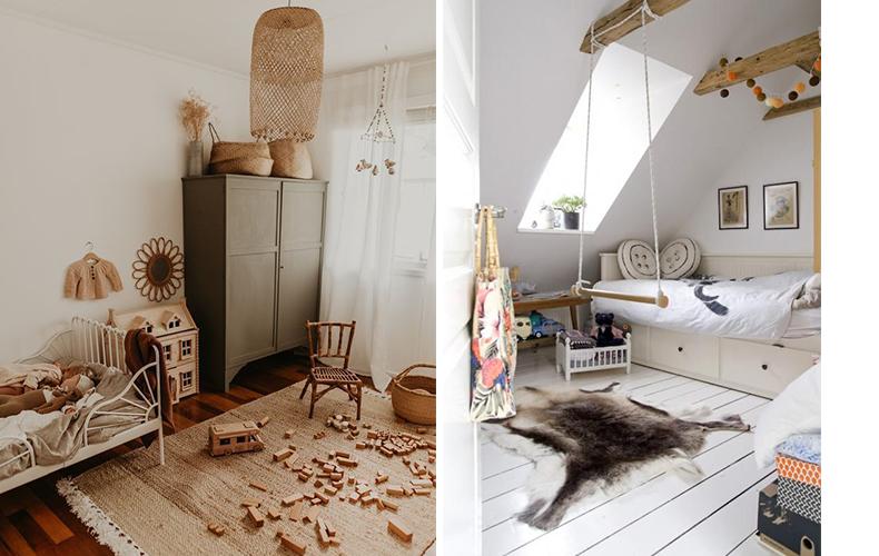 10 x houten vloeren in de kinderkamer