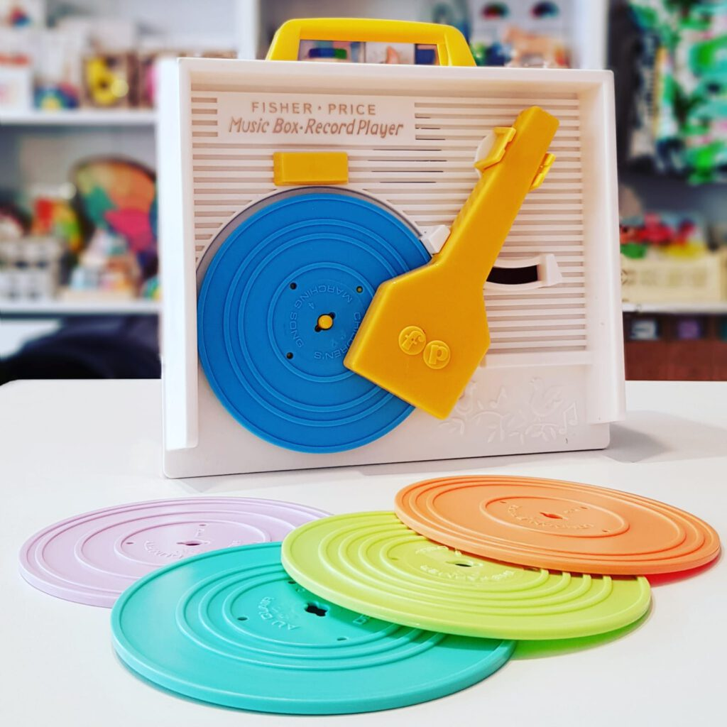 platenspeler fisher price