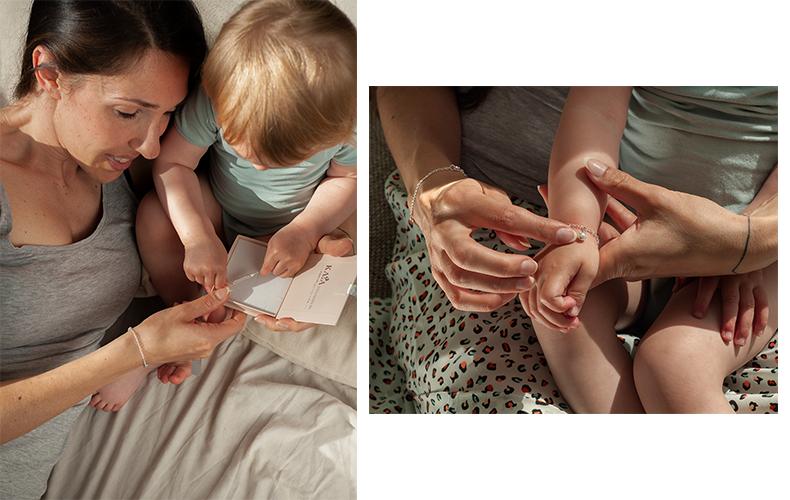 Moeder en kind sieraden die je kunt personaliseren!