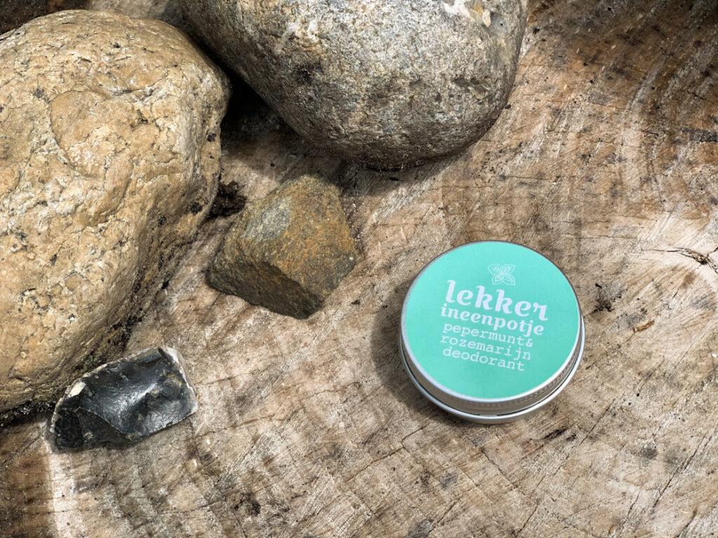 natuurlijke deodorant lekker uit een potje