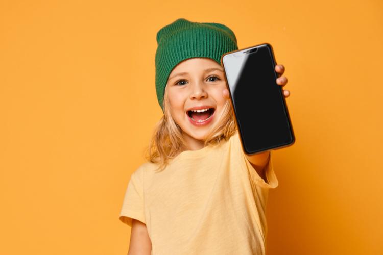 smartphone voor een kind